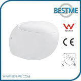 Hot Sale Cheap Ceramic Wall Hung Toilet in Germany (BC-1003D)