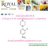 3-Fluoro-4- (4-methylpiperazin-1-yl) Aniline CAS: 221198-99-8 with Purity 99% Made by Manufacturer