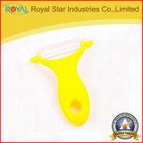 Kitchen Tool Ceramic Peeler with Plastic Handle
