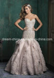 Stunning Beading Bodice Mermaid Trumpet Wedding Dress Prom Dress Wedding Gown (Dream-100033)