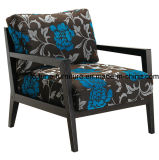 Wooden Fabric Upholstered Leisure Chair (I&D-8001301)