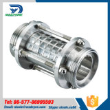 76.2mm Stainless Steel SS316L Sanitary Food Grade Straight Pipeline Sight Glass