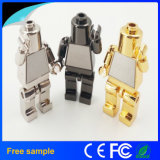 2017 New Cool Robot Metal USB Flash Memory 16GB