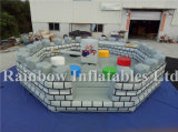 Outdoor Castle Deisgn Inflatable Meltdown Game