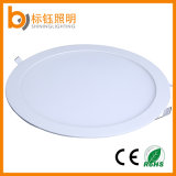 Round Die Casting Mini Ceiling Lighting 24W LED Panel Light for Commercial