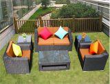 6 Pieces Outdoor Furniture Patio Sofa Rattan Furniture