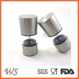 Ws-Pgs021 Stainless Steel Salt and Pepper Mill Set Mini Size Manual Grinder Set