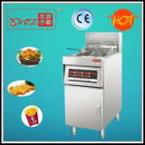 Micro Computer Control Floor Stand Electric Fryer with Oil