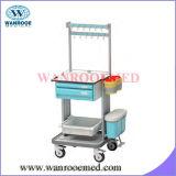 Multi-Functional Medication Cart with Multilayer Drawer Design