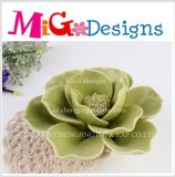 Wholesale From China Flower Ceramic Candlestick
