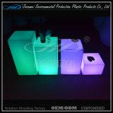 PE Plastic Modern Waterproof LED Cube