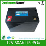 12V 60ah Lithium Iron Phosphate Battery Pack for Solar System