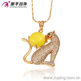 2016 Xuping Newest CZ Gold Plated Leopard Shape Pendant