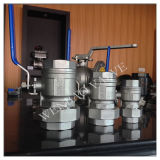 2 Pieces Stainless Steel Union Ball Valve 20k