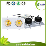 2*30W Square LED Downlight for Shopping Malls