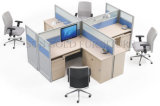 Good Quality Modular Cubicle Modern Office Workstation Partition for Furniture (SZ-WST755)