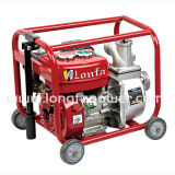 3 Inch Kerosene Manual Start Water Pump with Wheels