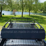 Universal Car Roof Mounted Basket Cargo Rack for SUV