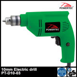 Powertec 300W 10mm Electric Hand Drill (PT-D10-03)