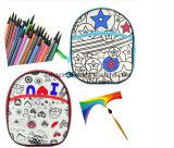 New Design High Quality Custom DIY Drawing Kids Backpack