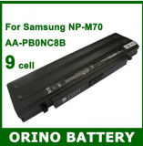 9 Cell Laptop Battery/Battery Pck for Samsung Np-M70 Np-R50 Np-R55