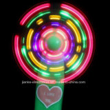 Promotional Flashing LED Light Fan with Logo Print (3509A)