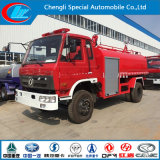 8000liters Dongfeng 170HP Water Tank Fire Fighting Truck for Sale