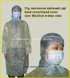 Medical Disposable PP Nonwoven Bouffant Cap/Red Bouffant Cap
