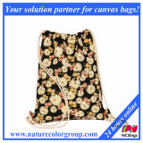 Promotional Polyester Sports Drawstring Backpack Bag (SP-5051)