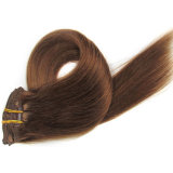 Double Drawn Wholesale Cheap Price Kinky Straight Afro Hair Clip in Extensions