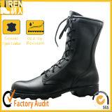 Black Genuine Leather New fashion Quickwear Military Footwear Military