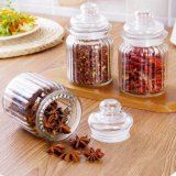America Kitchen Glass Storage Food Jar Glass Chocolate Candy Coffee Jar