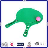 Green En71 Test Plastic Beach Racket
