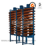 Spiral Chute Concentrator for Heavy Mineral Separation