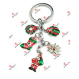 Wholesale Fashion Metal Charms Keychains Christmas Gifts (KCG50911)