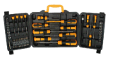 60 PCS Durable Household Tool Kit with Screwdriver Socket Bits