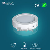 6W LED Panel Light Surface Mounted Round Ceiling Lamp