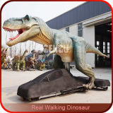 Simulation T-Rex Walking with The Dinosaurs