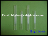 Heat Resistance Domed Clear Silica Glass Tubing