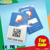 13.56MHz MIFARE DESFire EV1 4K RFID Smart Card Windshield tag