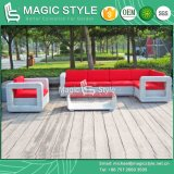 Rattan Corner Sofa Set Modern Garden Sofa Set Patio Wicker Sofa Set (Magic Style)