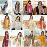 Hot-Selling New Designs Viscose Scarf for Lady