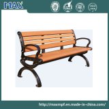 Outdoor Furniture WPC Slats Cast Iron Park Bench