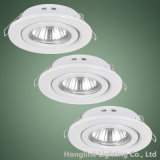 White Adjustable GU10/MR16 Halogen LED Recessed Ceiling Downlight of Light Fixture
