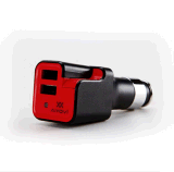 Mobile Phone Car Charger with Dual USB Port and Air Purifier
