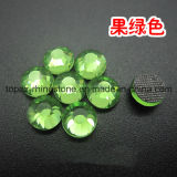 China Factory DMC Hot Fix Rhinestone for Dress (SS20 Peridot/3A grade)