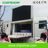 Chipshow P8 Full Color Outdoor Mobile Truck Advertising LED Screen