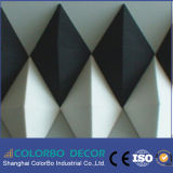 Interior Fireproof Polyester Fiber Decorative Wall Panels
