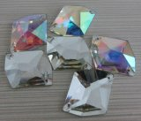 Wholesale Flat Back Crystal Ab Sew on Stone for Garment Accessories