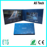 LCD Video Greeting Card with Touch Panel for Business